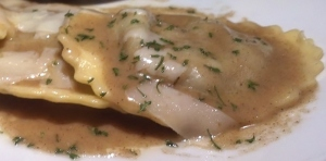 Fleming's Roasted Mushroom Ravioli