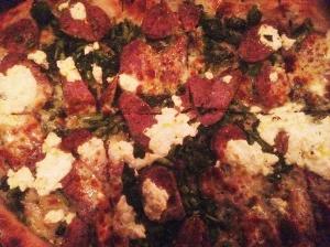Broccoli Rabe - Sausage and Ricotta