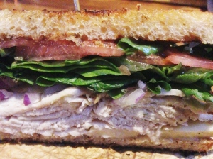 GPub Smoked Turkey Sandwich